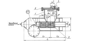 Грязевик горизонтальный ТС-565.00.000-07