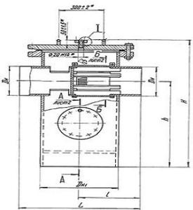 Грязевик вертикальный ТС-567.00.000-01