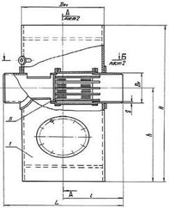Грязевик вертикальный ТС-568.00.000-10